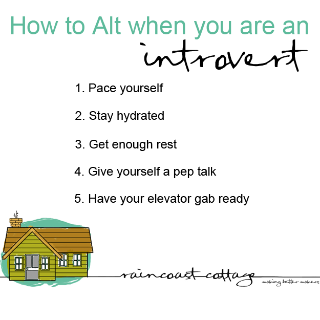 How to do a conference when you are an introvert - Sandra Harris