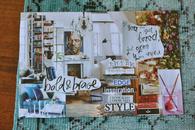 inspiration board mood board