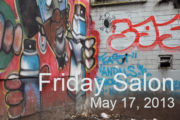 friday salon graffiti alley