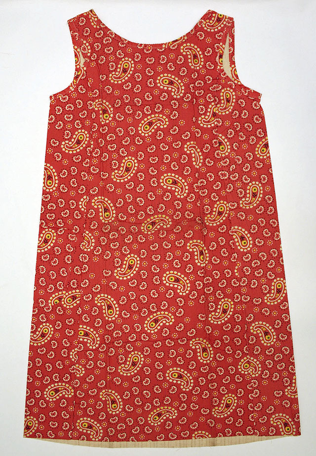 paisley dress by Scott Paper Company, 1966. source Metropolitan Museum of Art