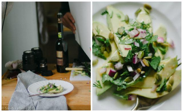 avocado salad - Sandra Harris