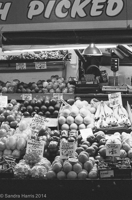 Pike Place Market, Seattle fruits and vegetable