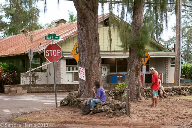 Hana, Maui town center