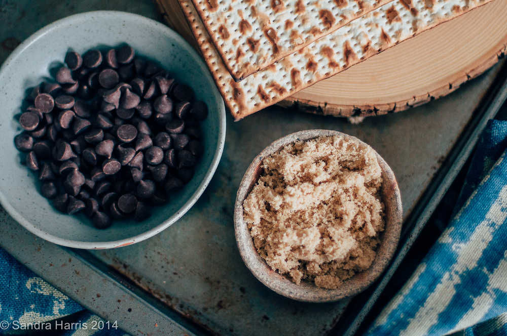toffee chocolate matzoh crunch - Sandra Harris