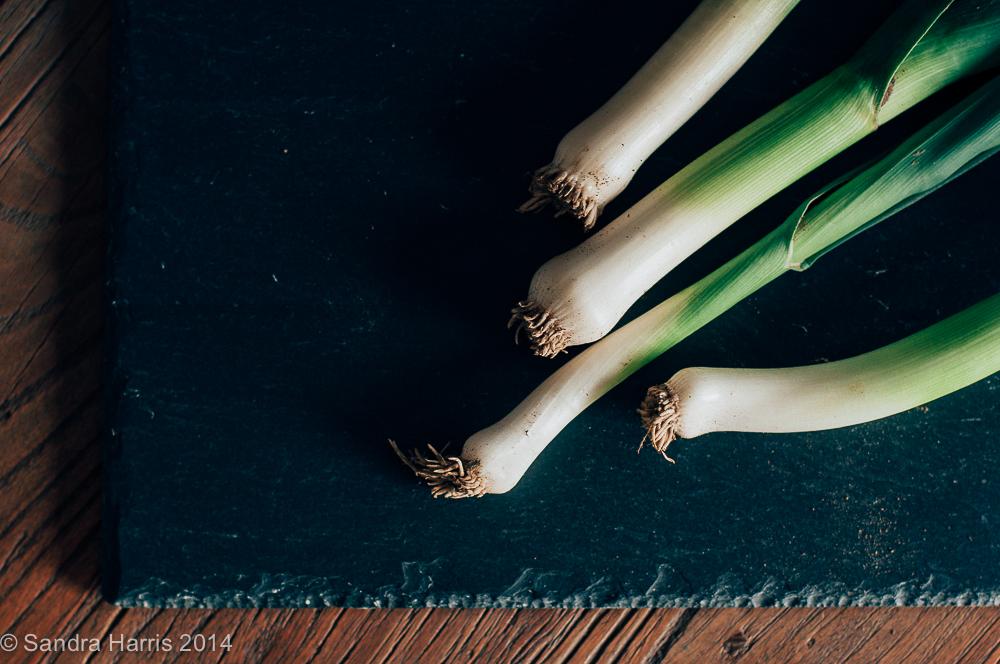 leek risotto - Sandra Harris