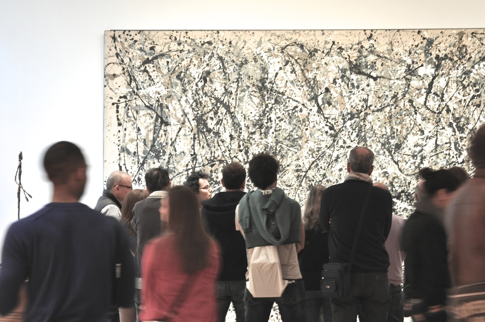 Number 1A, 1948 Jackson Pollock, MOMA - Sandra Harris. Interested in it's recent restoration? Read and see over here.