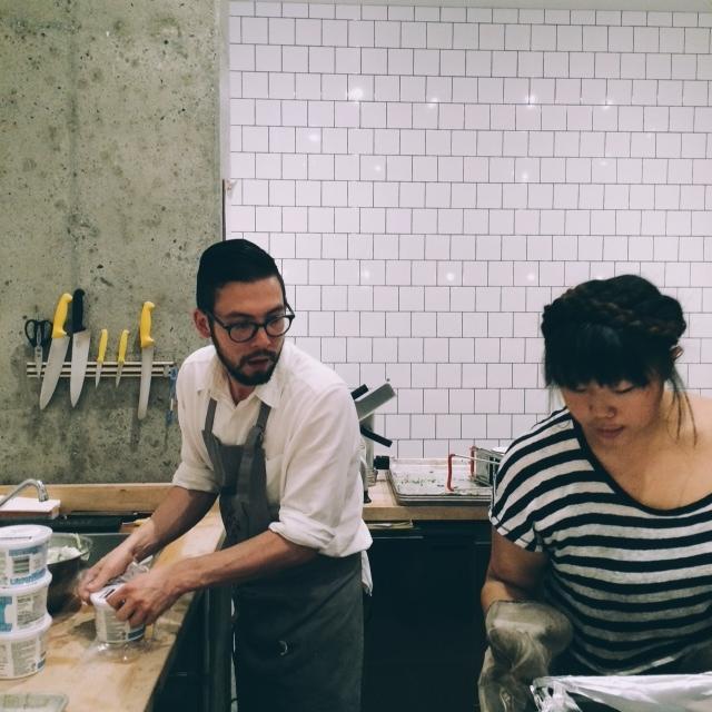 Annabelle Choi Kinfolk Dinner 2014 - Sandra Harris