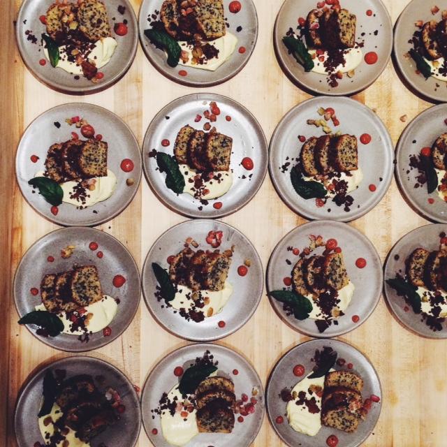 Kinfolk Dinner Vancouver dessert - Sandra Harris