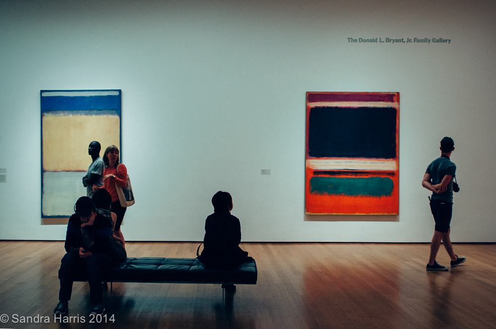 Mark Rothko, MOMA - Sandra Harris