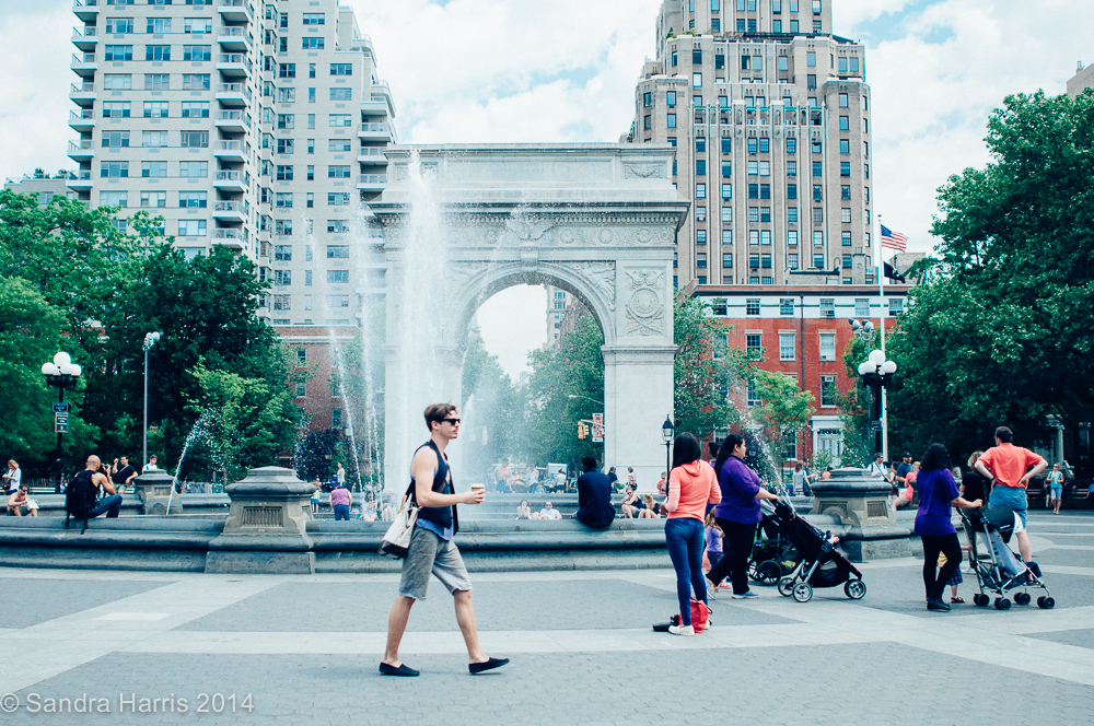 Washington Square Park, NYC - Sandra Harris