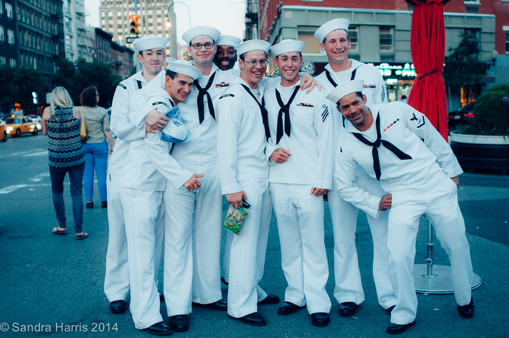 Fleet Week, NYC, Meatpacking District - Sandra Harris