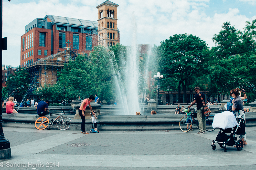Washington Square Park, NYC - Sandra Harris