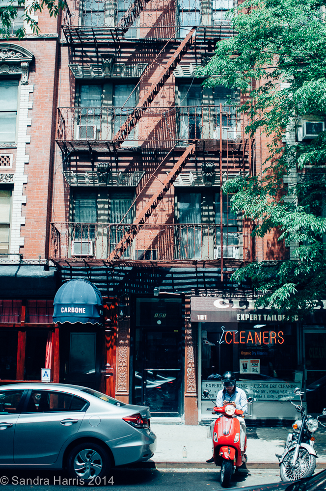 Greenwich Village, Sullivan Street - Sandra Harris