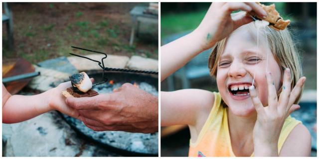 smore campfire cottage Sandra Harris