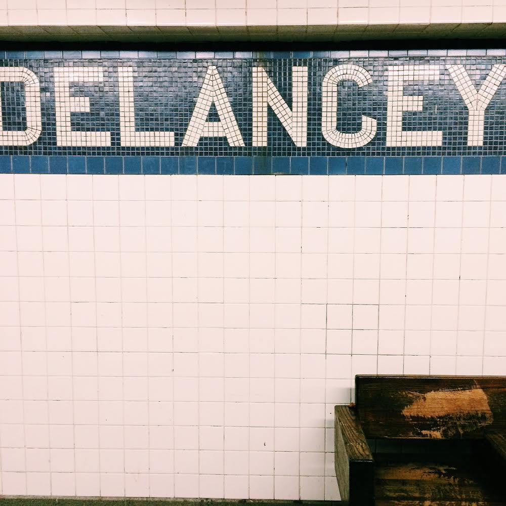 Delancey Subway NYC Tile