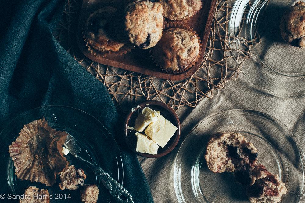 Tovah Cooks bing cherry muffins Sandra Harris