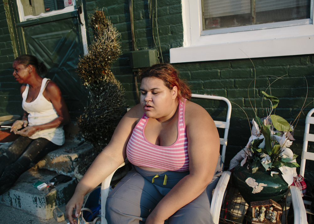 Untitled Audrey on Southside, 2015, Bethlehem, PA, From the series, Audrey and Andrew