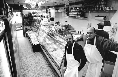 Frank McHugh and BIll Rodriguez, both apprentice butchers took over in 1989