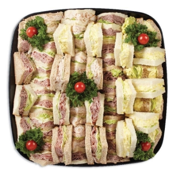 Party platters franks market finger sandwich platter altavistaventures Images