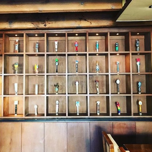 It's done! Updated tap wall. Thanks @tylerdituri & @tankthefrank36 !Come on in for a nice cool beer and some bar snacks.