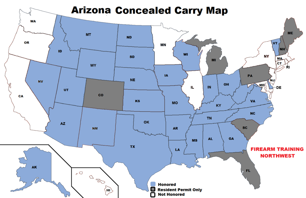Concealed Carry Permit — Firearm Training Northwest