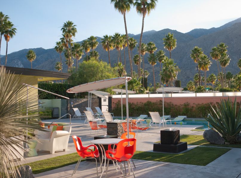 the dream is alive in Woodland Hills! / iStock photo and not actually Woodland Hills but a hotel in Palm Springs