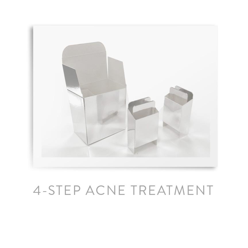 4-STEP ACNE TREATMENT