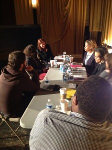 2013 Screenplay Retreat Group Session