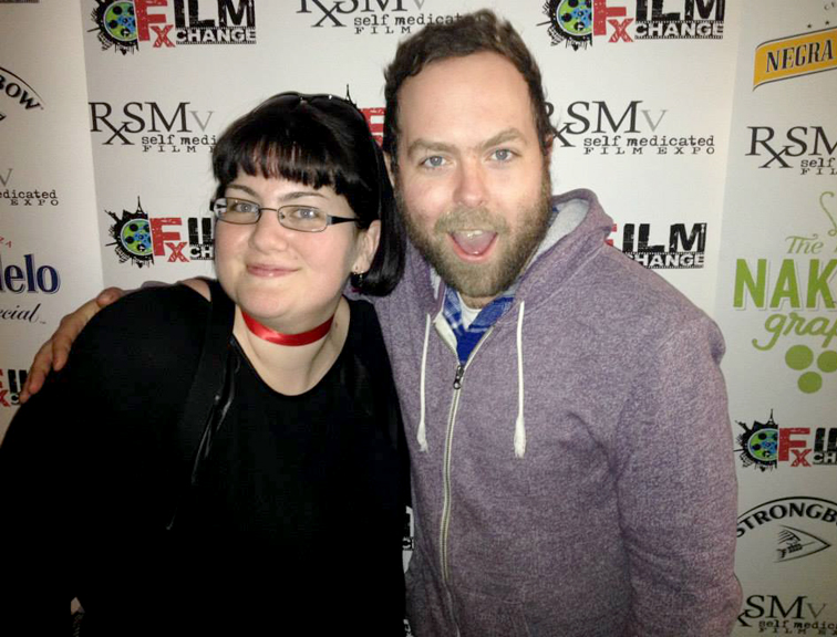 Filmmakers Juli Jackson and Zach D. Turner at RXSM