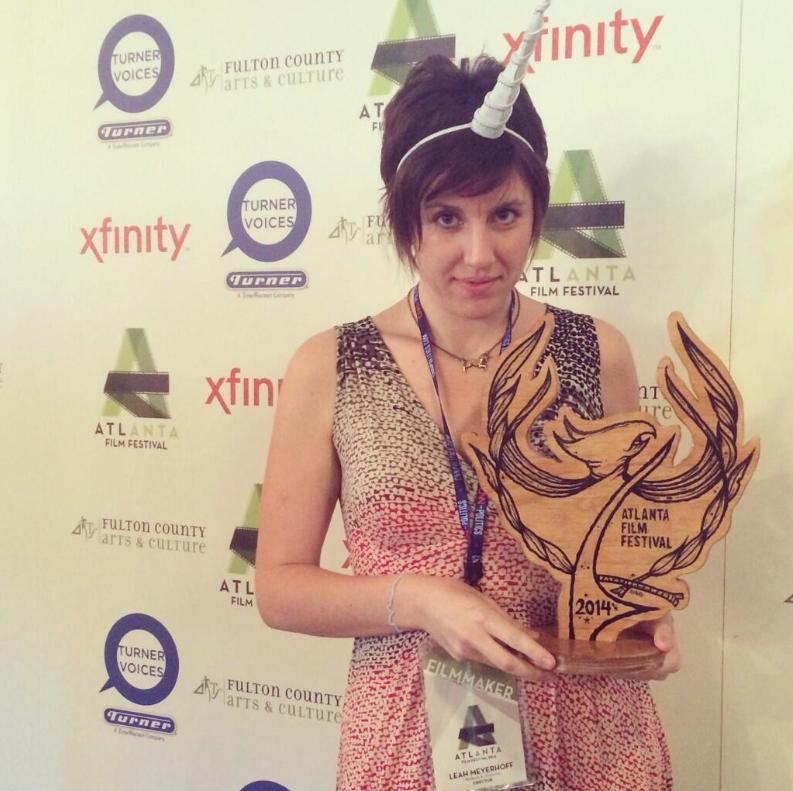 Leah Meyerhoff, writer/director of the 2014 Atlanta Film Festival Narrative Feature Award Winner, I Believe In Unicorns.