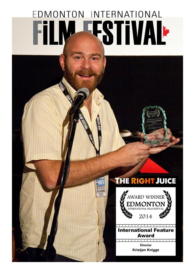 "Kristjan Knigge, writer/director of ""The Right Juice."""