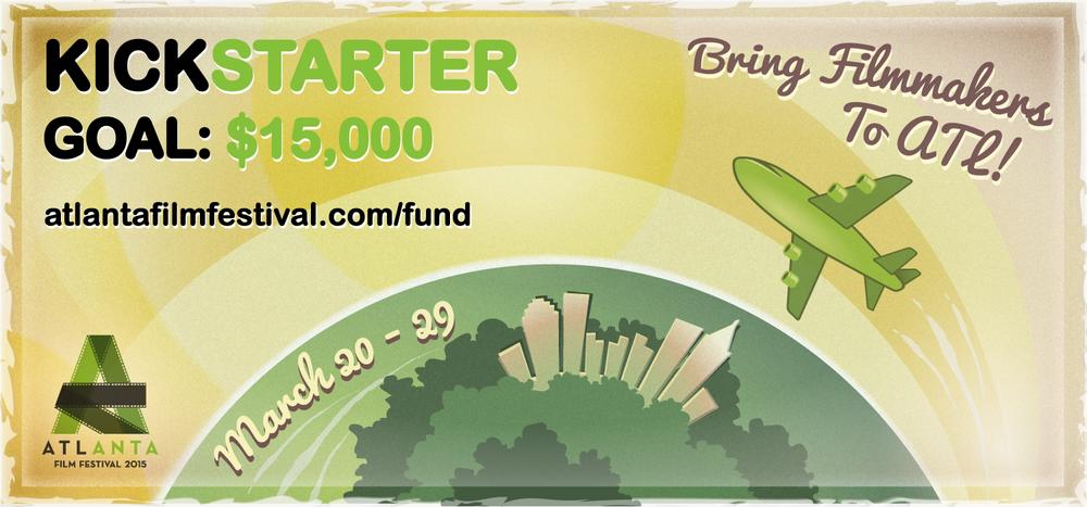 Kickstarter campaign - $15000 goal