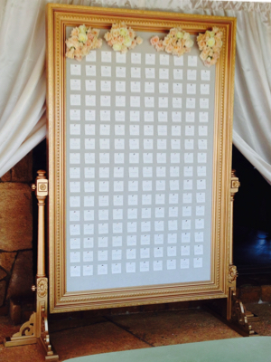 Escort Card Displays / Frames