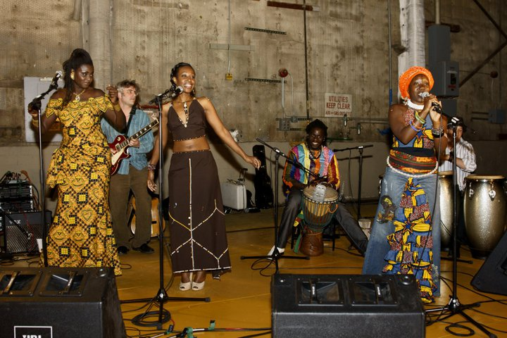 Performing With Nasambu & Her Band