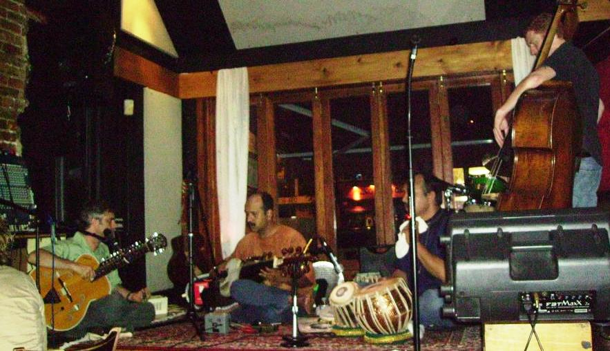 Performing with John Palmer, Bass, Soumya Chakraverty, Sarod, & Debu Nayak, Tabla, at Bossa, Washington, DC