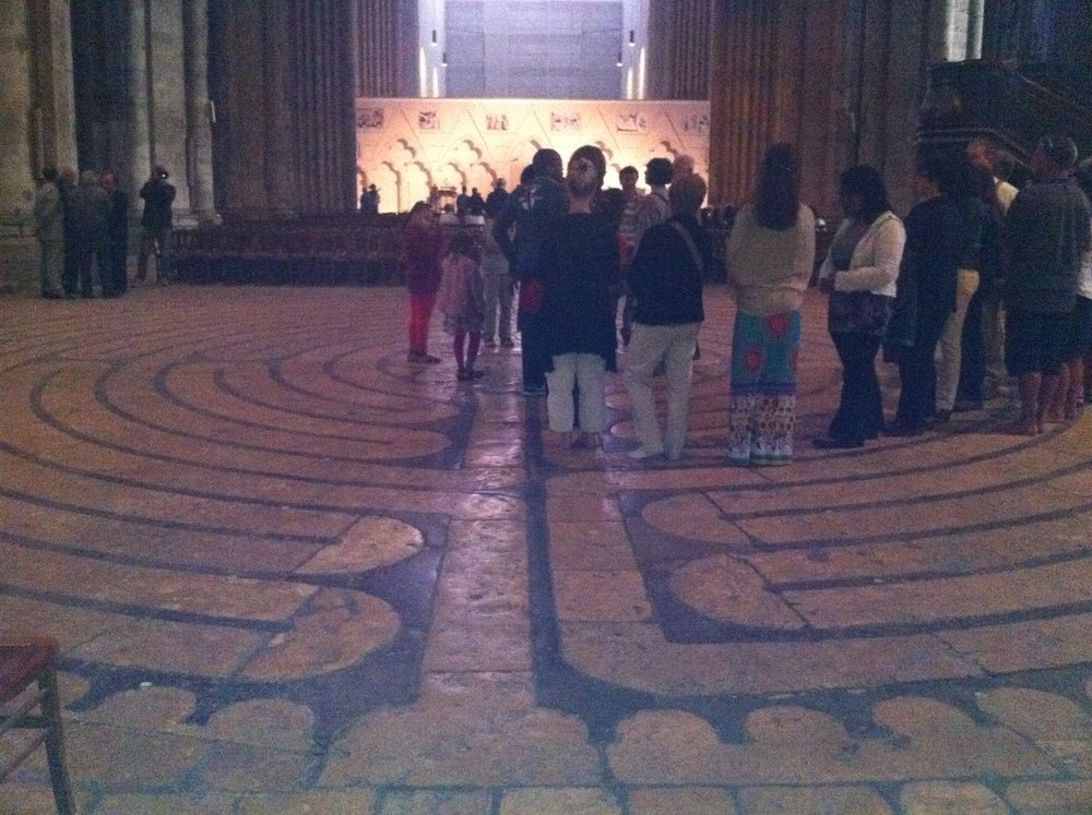 Chartres labyrinth, Chartres, France