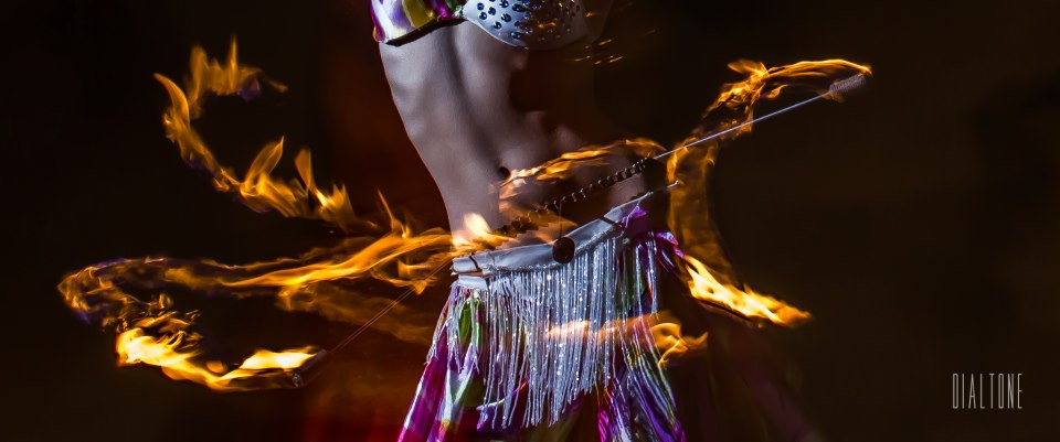 fire dancer belly dancer fire belt