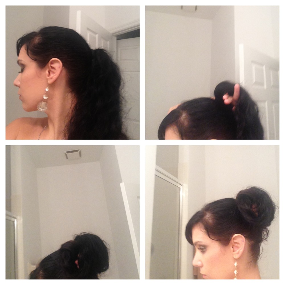 Photo Guide for Grecian Goddess hair