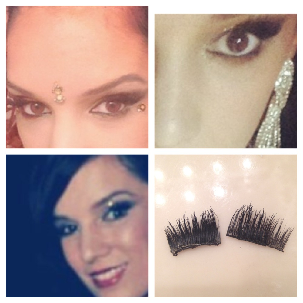 Here are the same lashes used in three different themes: bellydance, ballet and bollywood