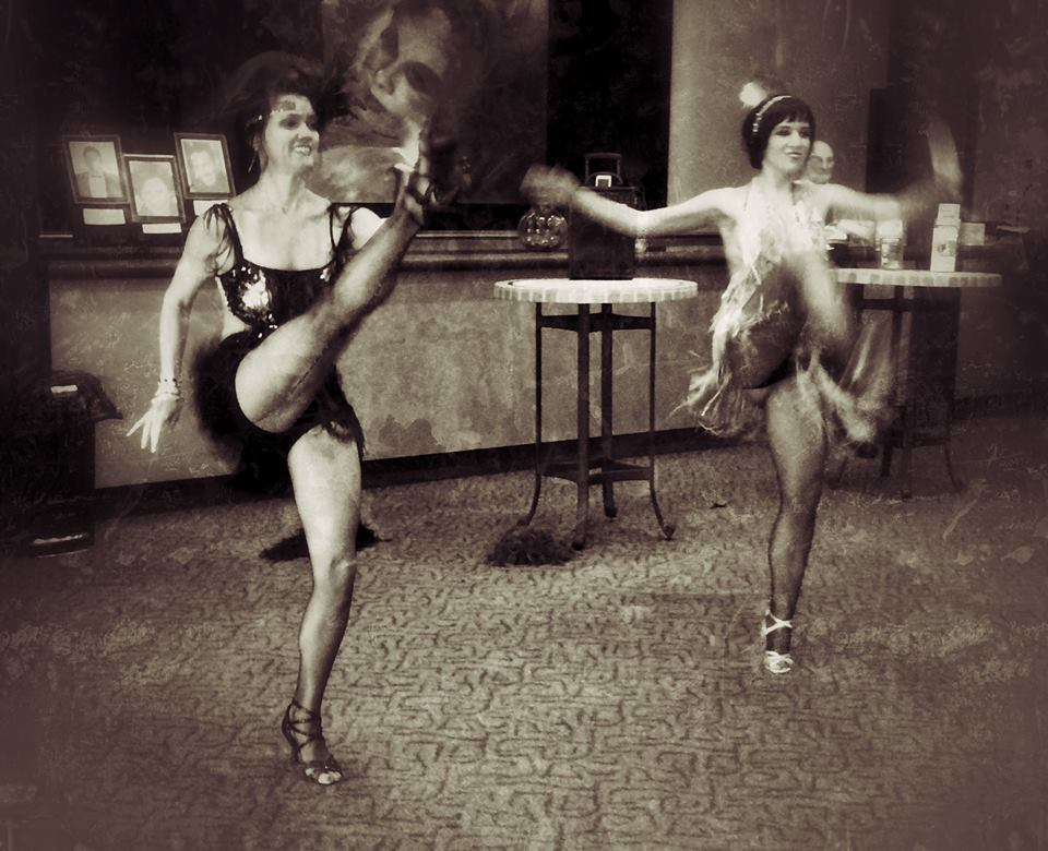 Sirens doing a flapper dance opening for Jazz Concert in Boca Raton South Florida