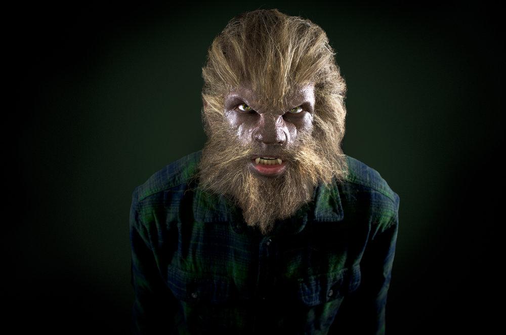 Werewolf - Halloween Portrait