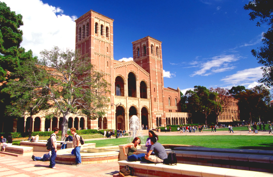 UCLA- University of California, Los Angeles.
