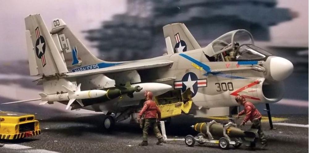 (A-7 Corsair II VA-82 Marauders)©2014 www.militaryminiatureshq.com
