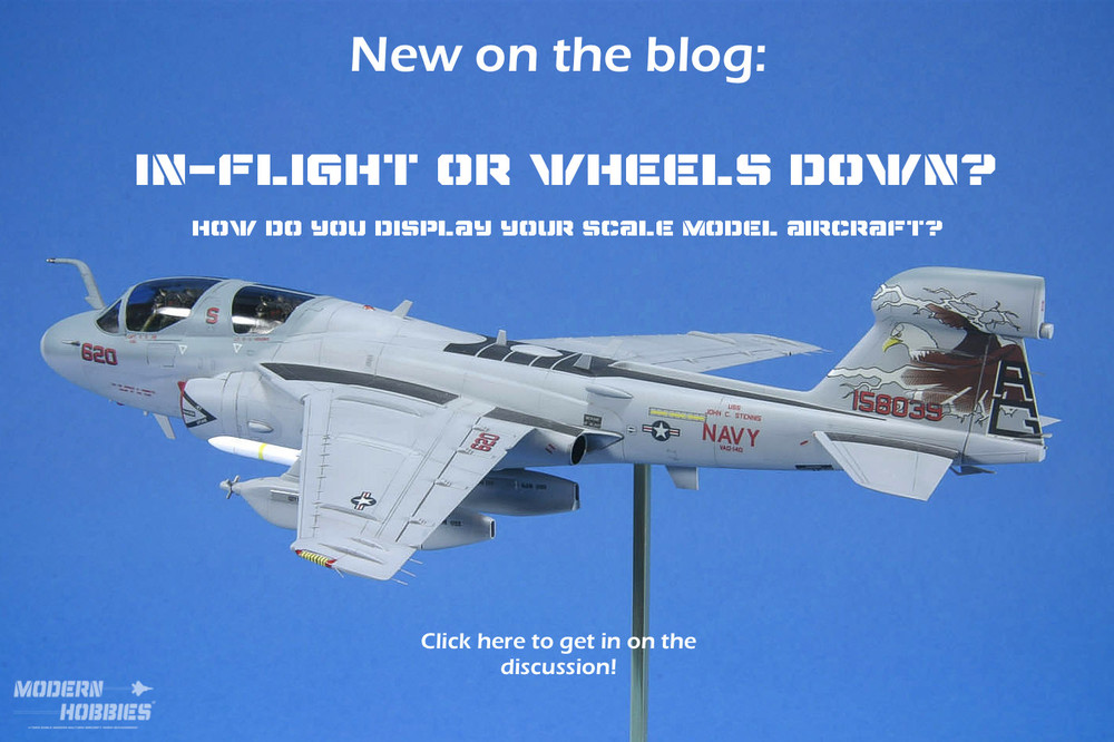 www.modern-hobbies.com-displaying models-1-72nd scale jets-model display stands-in flight models-wheels down display-dioramas-model photography-ea-6b prowler-1.jpg
