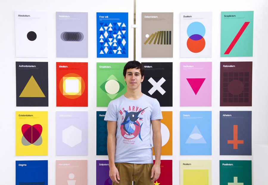 Philographics and their designer  Genís Carreras