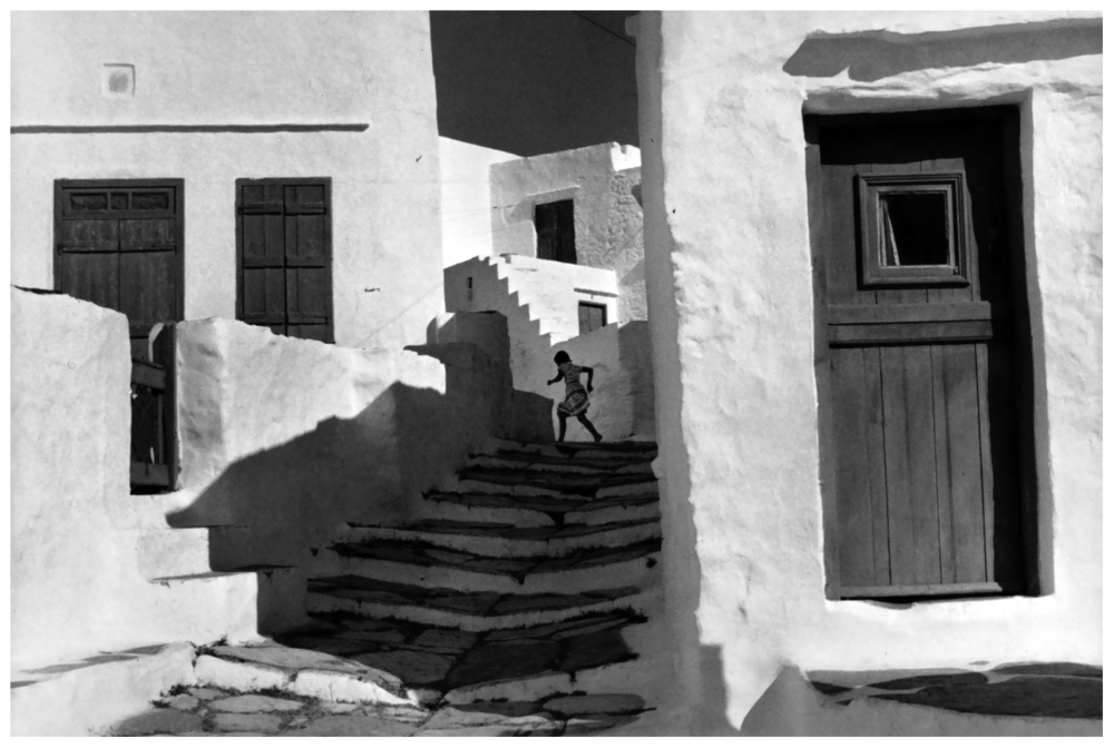 Henri Cartier Bresson - Cyclades. Island of Siphnos. (1962)