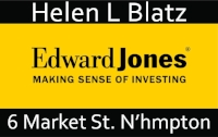 We are grateful to the Helen Blatz of Edward Jones for her support of our 2017-2018 Season.