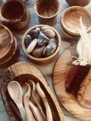 WoodenBowls - Bowls and utensils from our trees by Siegfried Haug