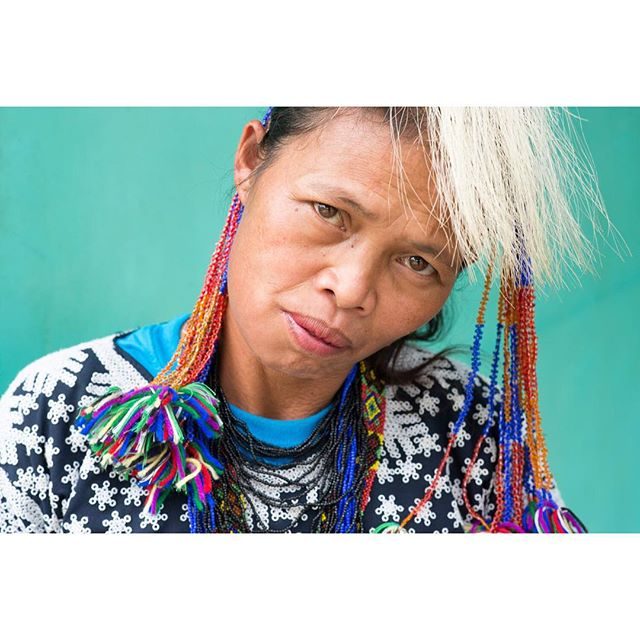 I see you Friday 👀  Tboli woman in Mindanao, Philippines