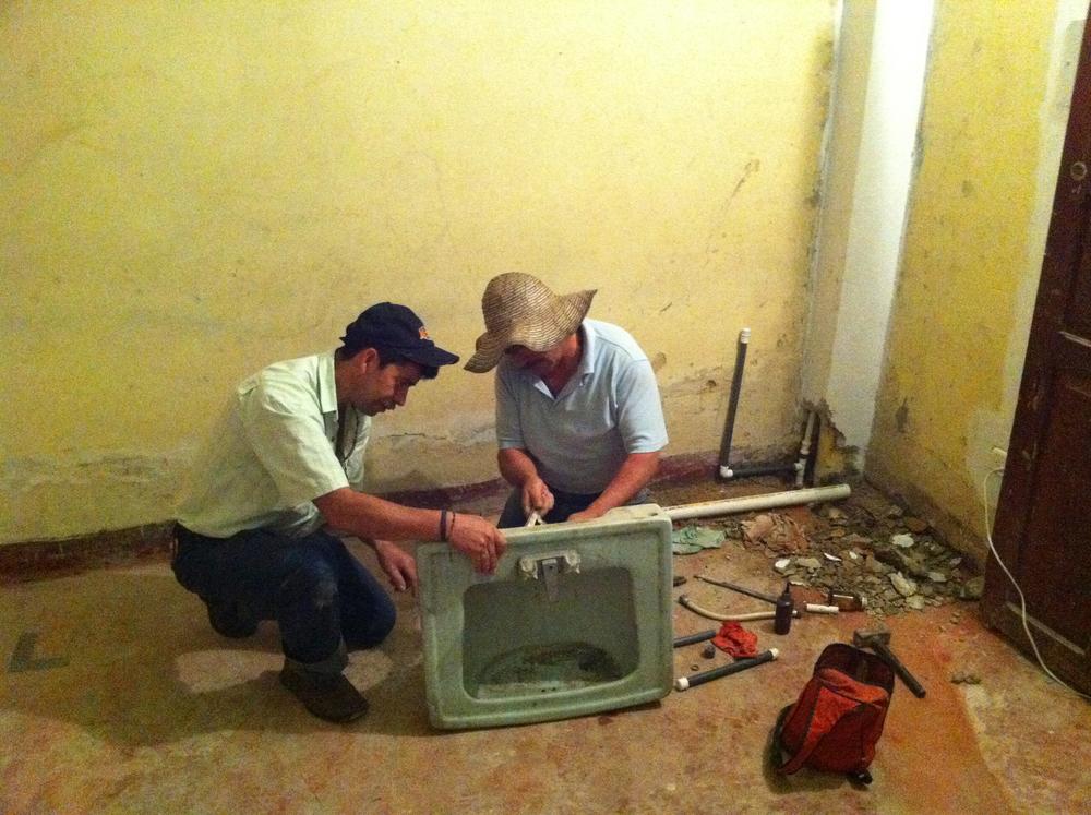 day 1 - plumbing